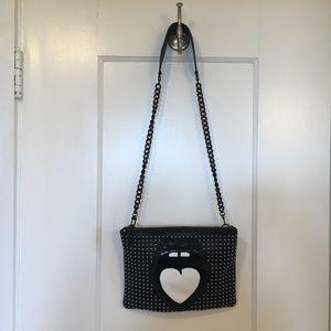 Nasty Gal x Bloomingdales Leather Crossbody Bag